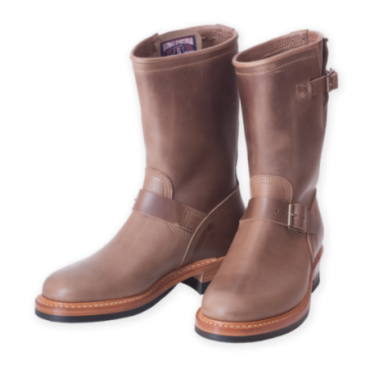 ENGINEER BOOTS - NATURAL