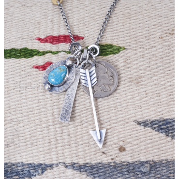 Cumpas turquoise + sterling...